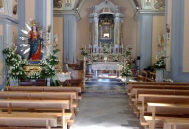 Addobbi in chiesa