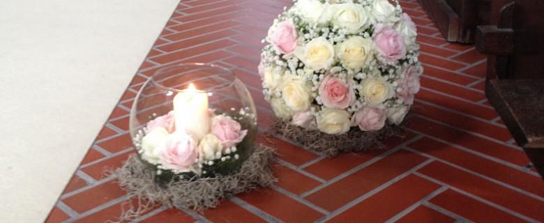 Addobbi Floreali per il matrimonio in Chiesa