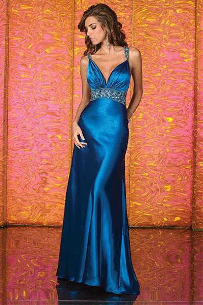 Galleria D Arte Scarano   l abito da cerimonia da donna blu notte d793c296720